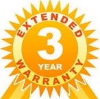 3 Year Full Warranty